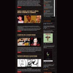 Web Tunorockeas Cultura basura