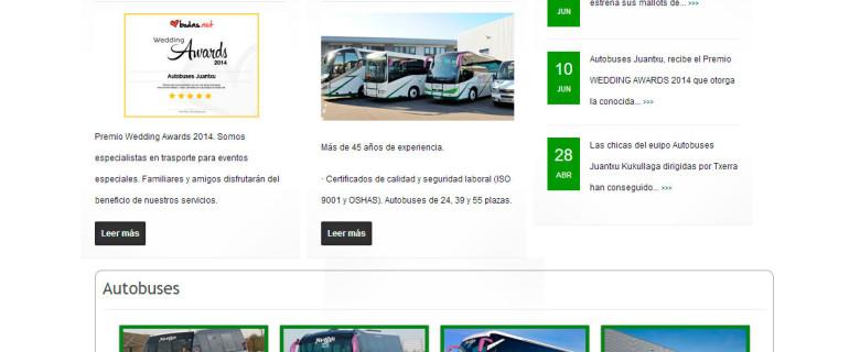 Autobuses Juantxu Bilbao