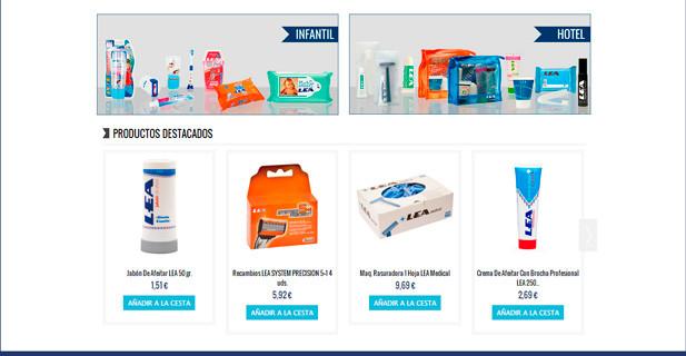 Tienda online Productos Lea