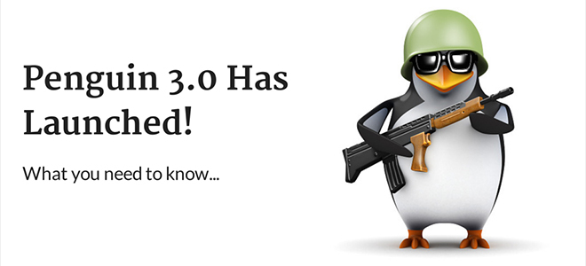 Penguin 3.0 de Google y SEO