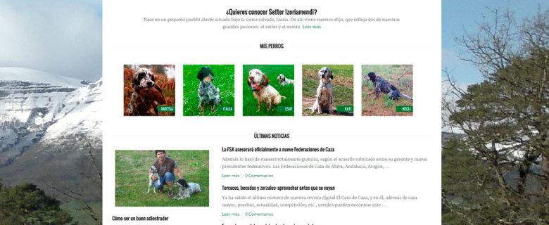 Web Izoriamendi Oscar San Juan
