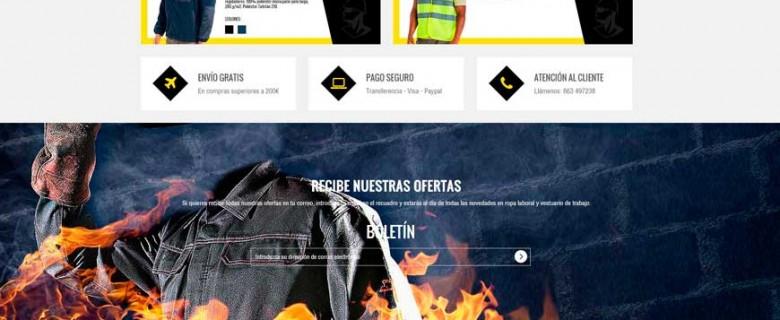 Tienda Online Ropa Laboral Vitoria Gasteiz