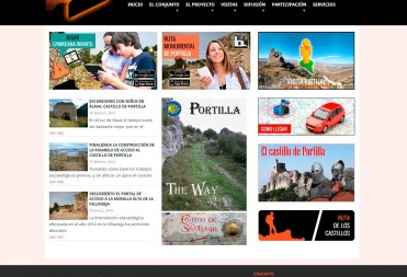 Diseño Web Castillo de Portilla